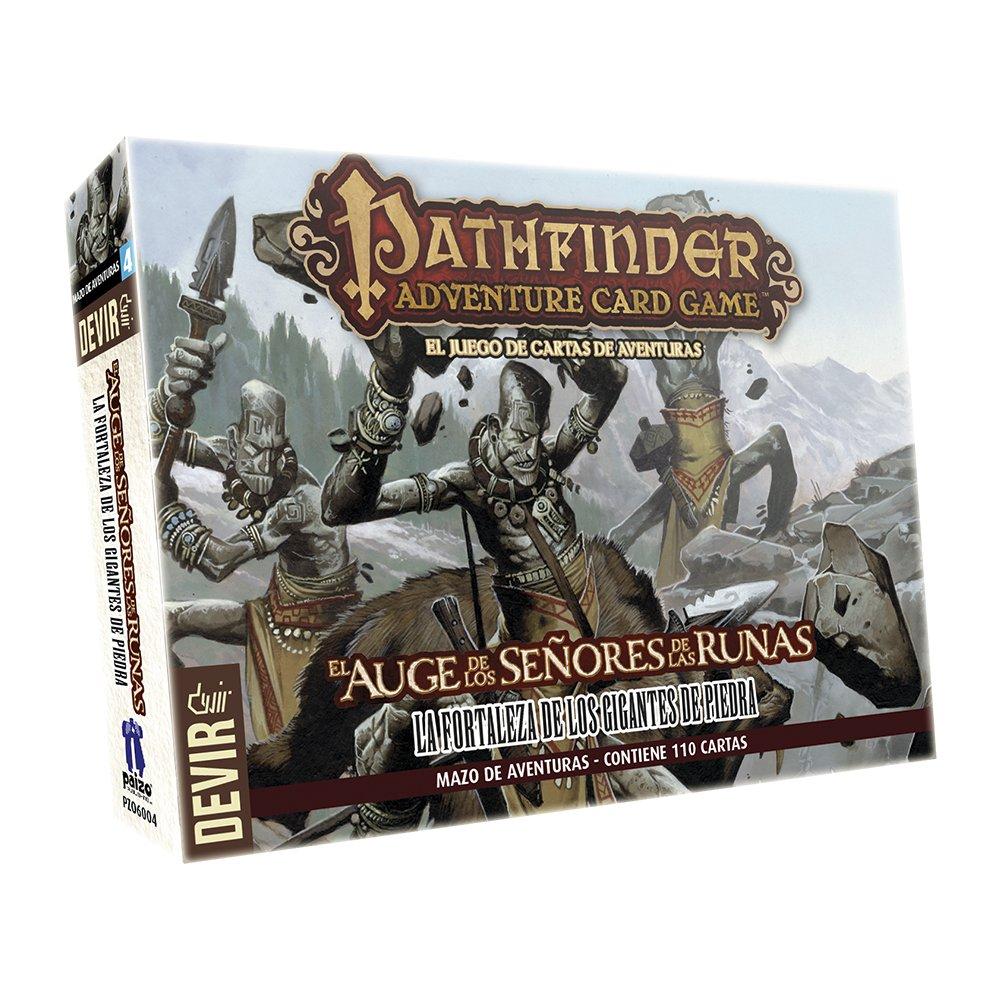 Devir - Pathfinder mazo 4: la Fortaleza de los Gigantes de Piedra, Juego de Mesa (222630)