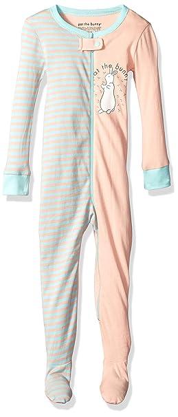 57b37af11e1b Amazon.com  INTIMO Baby Infant Pat The Bunny Bookjamas  Clothing