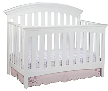 delta children bentley 4 in 1 crib white - White Baby Crib