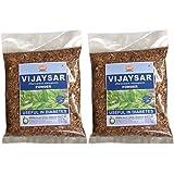 Kangra Valley Khadi Vijaysar Powder, 100g each (Pack of 2)