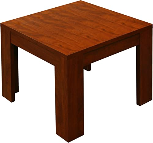 Boss 22-Inch by 22-Inch Cherry End Table