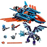 LEGO 6174986 Nexo Knights Clay's Falcon Fighter Blaster 70351 Building Kit (523 Piece)