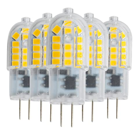 GR Clear LED Bi-Pin Luces AC 220-240 V (5 piezas)