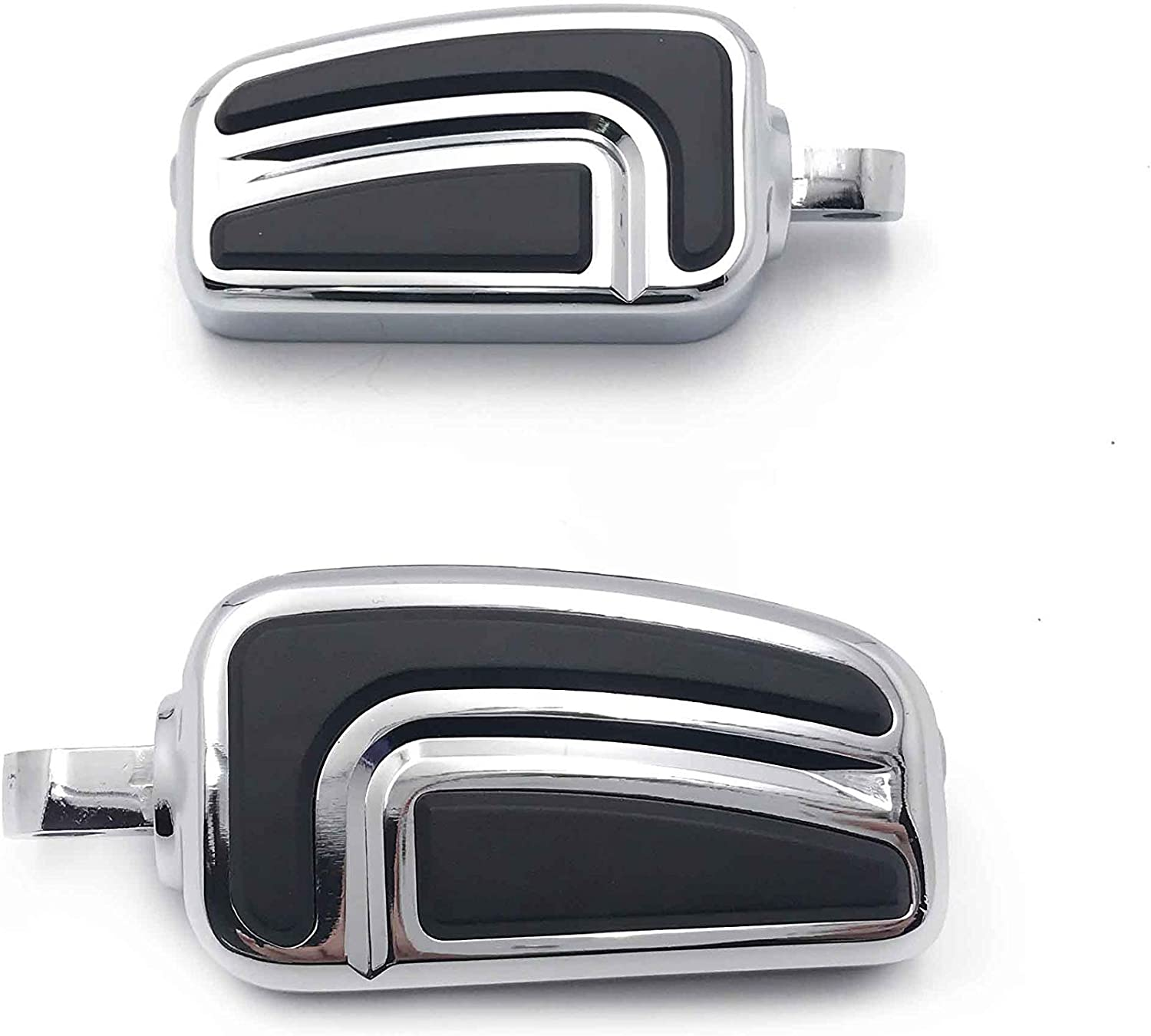 Seventy Two XL1200V// Forty Eight XL1200XSoftail Deluxe FLSTN//Breakout FXSB//CVO Pro Street Breakout FXSE HTTMT Style 101-2 PCs Chrome Billet Shifter Peg Compatible with Harley Davidson all models