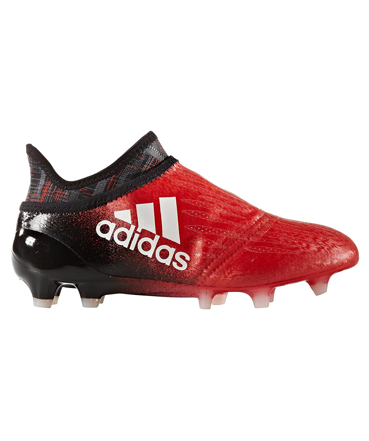 606c5c97a4c adidas X 16+ Pure Chaos Kids FG Football Boots - Red White Core Black -  Size 3.5  Amazon.co.uk  Shoes   Bags