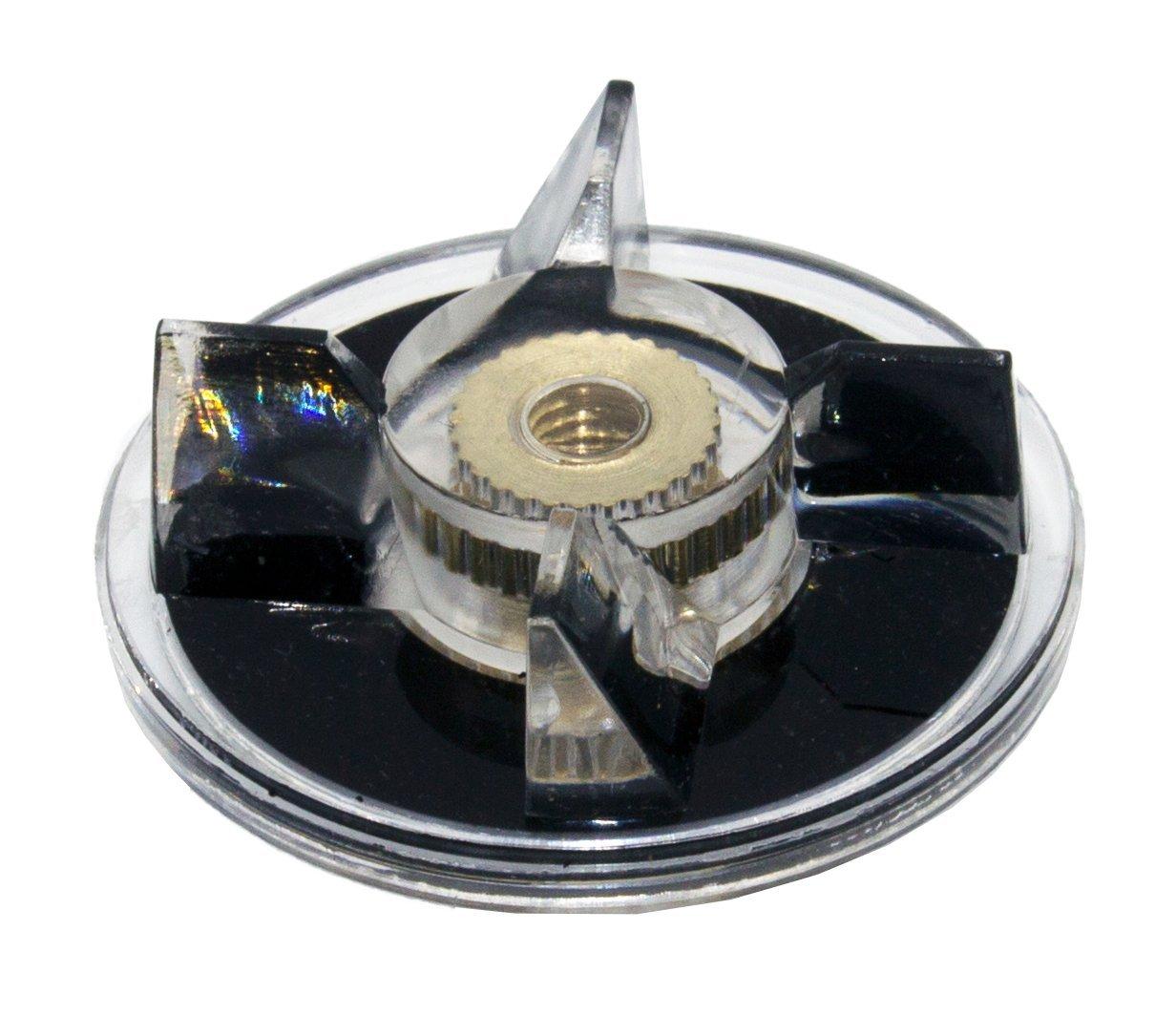 Blendin Replacement 4 Base Gears 4 Blade Gears Clutch Parts Fits Magic Bullet MB1001 Blender