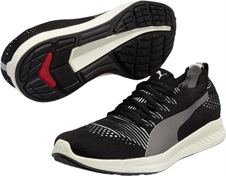 PUMA Ignite Proknit Chaussures de Course Hommes, (NoirBlanc
