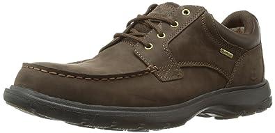 Timberland EK Richmont FTM_EK Richmont GTX Moc Toe Oxford, Chaussures de ville à lacets pour homme - Marron - Marron foncé, 44.5 EU (10 Homme UK) EU