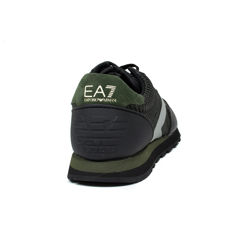 Emporio Armani EA7 Baskets Homme Nuove orginale Heritage Running Noir EU 42 278059  6A299 00020  Amazon.fr  Chaussures et Sacs 80e99dcbc04