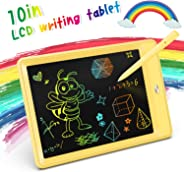 KOKODI LCD Writing Tablet, 10 Inch Toddler Doodle Board Drawing Tablet, Erasable Reusable Electronic Drawing Pads, Education