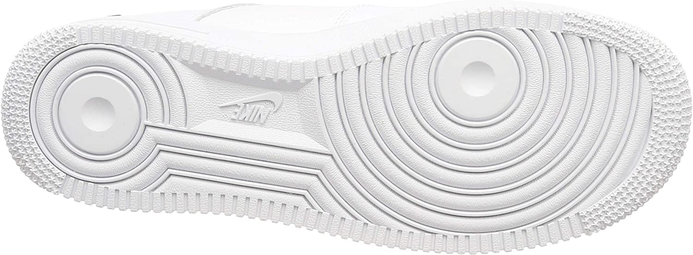 Nike Air Force 1 '07 Lv8 Utility, Chaussures de Gymnastique Homme Blanc White White Black Tour Yellow 100