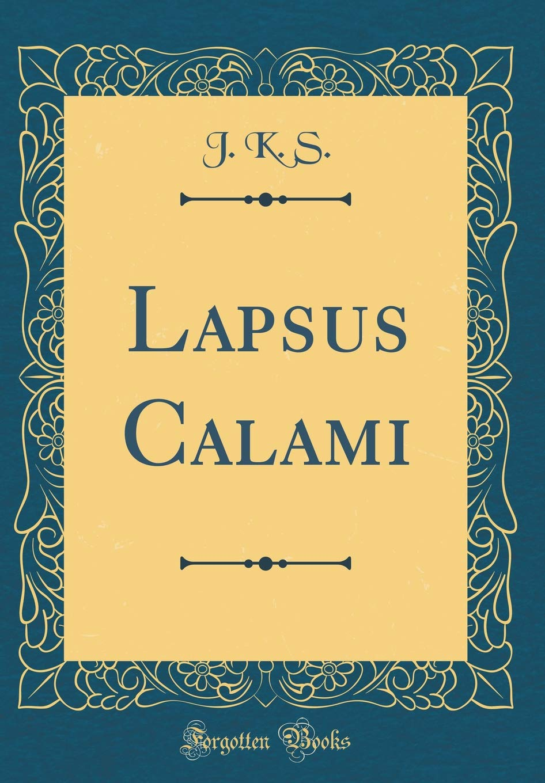Lapsus Calami