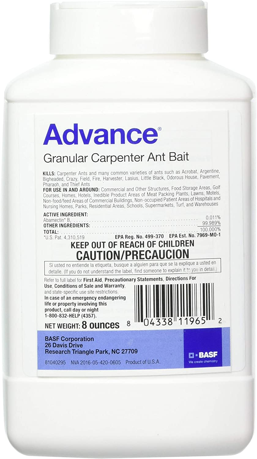 BASF 396153 Advance Granular Carpenter Bait, 8oz