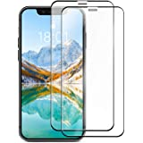 AmazonBasics Full-Coverage Tempered Glass Screen Protector for iPhone X/XS and iPhone 11 Pro 5.8 Inches (2pcs / Pack)