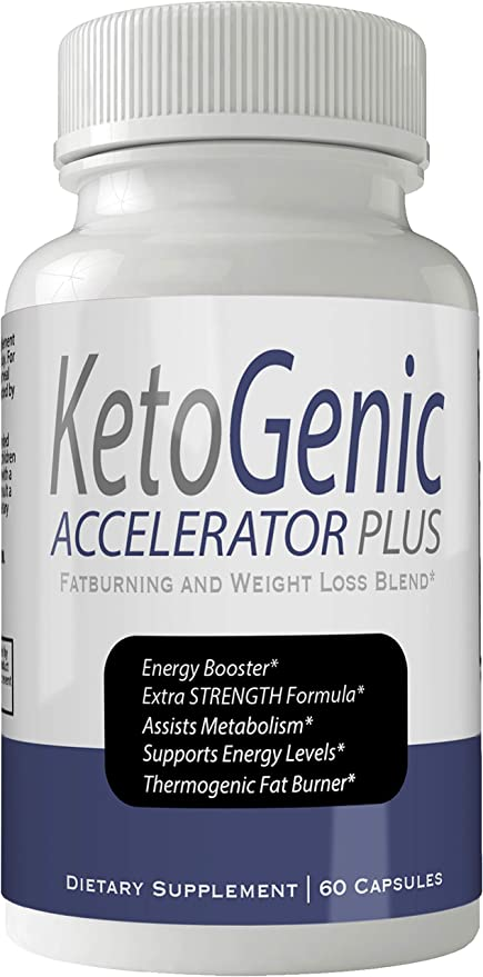 Ketogenic Accelerator Plus Pills Weight Loss Keto Blend Diet Capsules, Weightloss Lean Fat Burner, Advanced Thermal Fat Loss Supplement for Women and Men