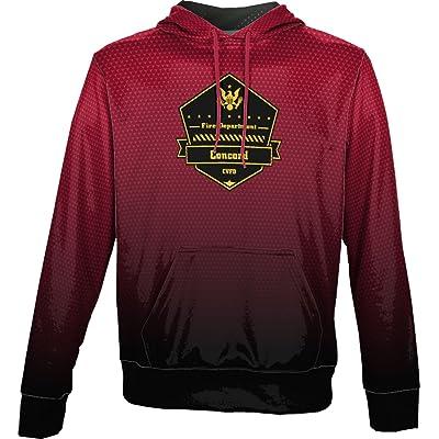 Boys' Concord Volunteer Fire Department Zoom Hoodie Sweatshirt (Apparel)