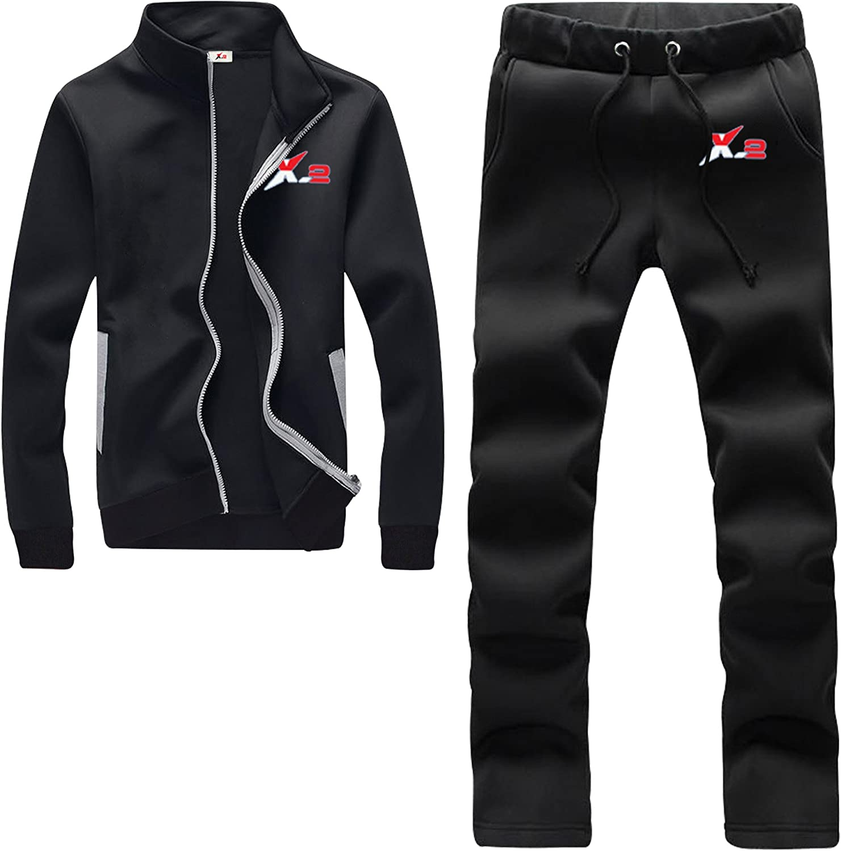 Details about  /Mens New Slim fit Full Tracksuit Set Pique Cotton Hooded Track Suit Jogging
