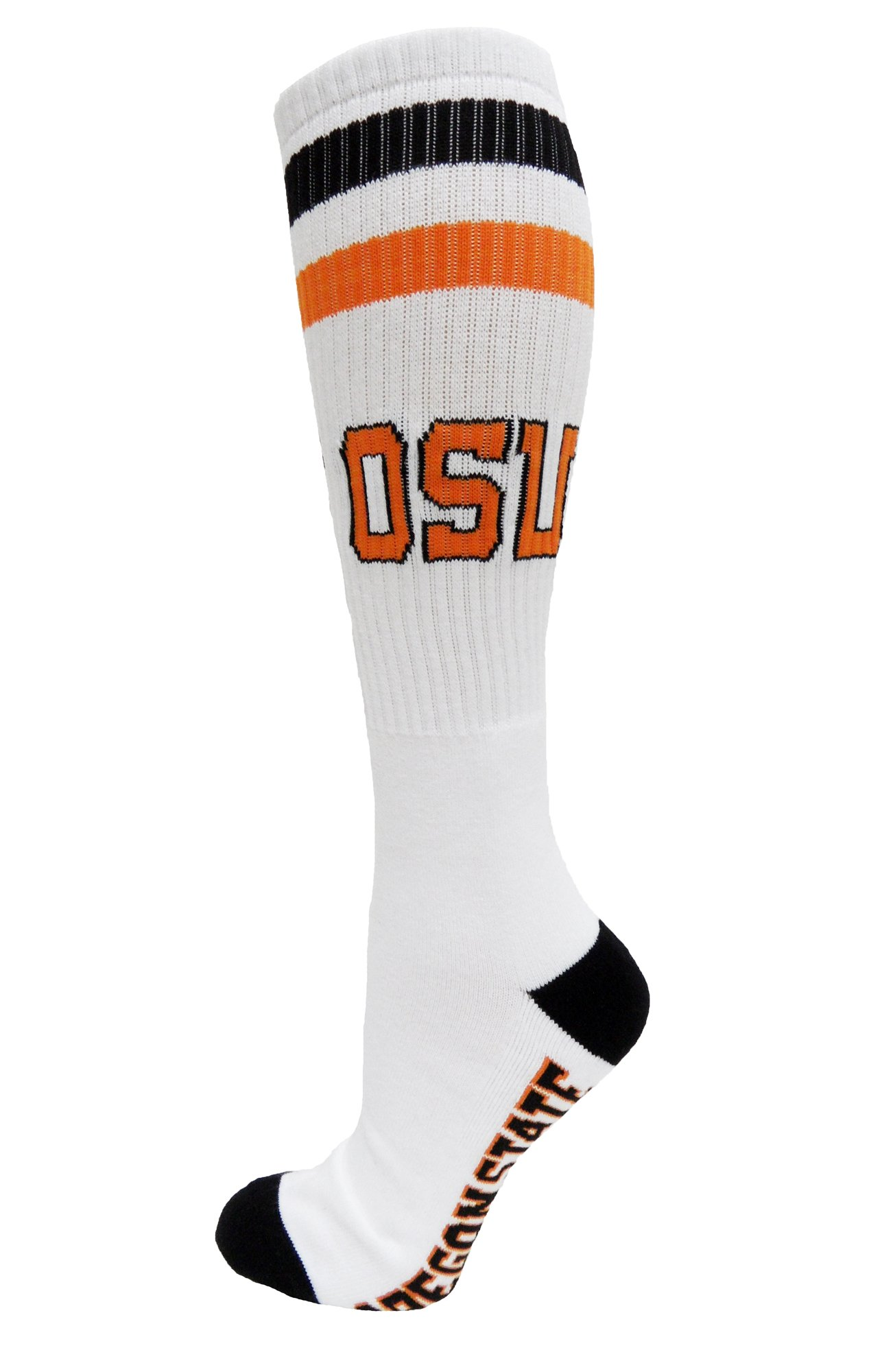 NCAA Oregon State Beavers Tube Socks, One Size, White by Donegal Bay