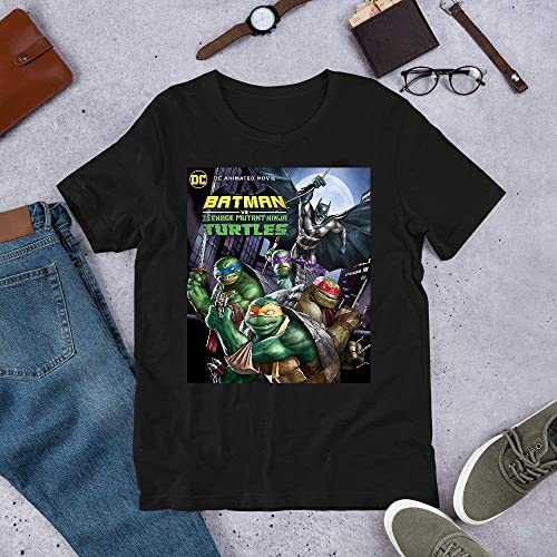 Amazon.com: Batman-vs.-Teenage-Mutant-Ninja-Turtles mug T ...