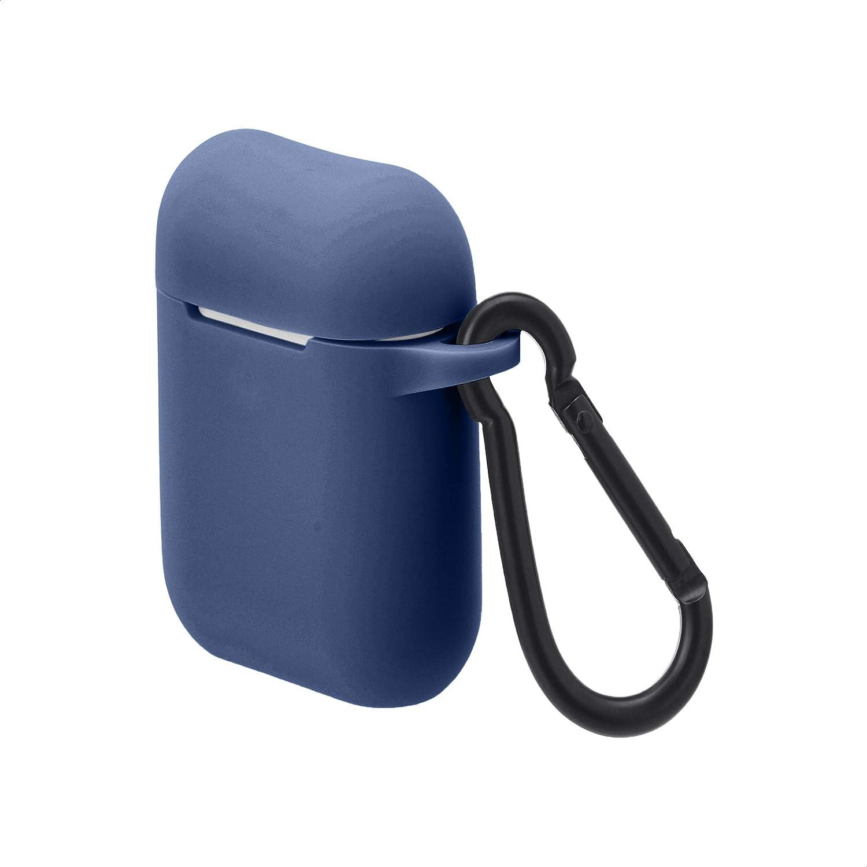 AmazonBasics Premium AirPods Case - Compatible with Apple AirPods 1 & 2, Cobalt Blue