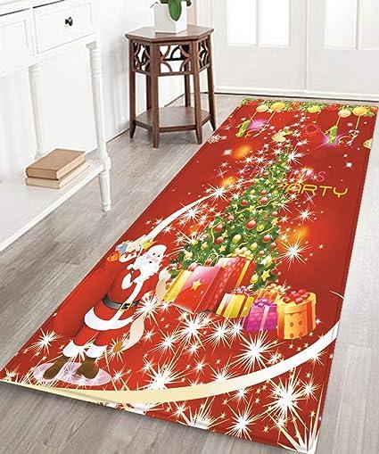 Christmas Carpet Runner.Amazon Com Little Cc Hallway Carpet Runner Stocking