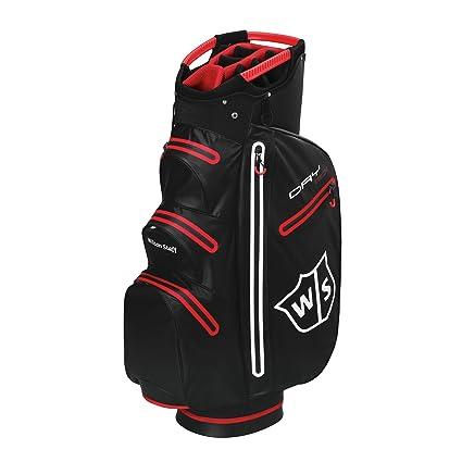 Wilson W/S Dry Tech Cart BL Bolsas de Palos de Golf, Hombre ...