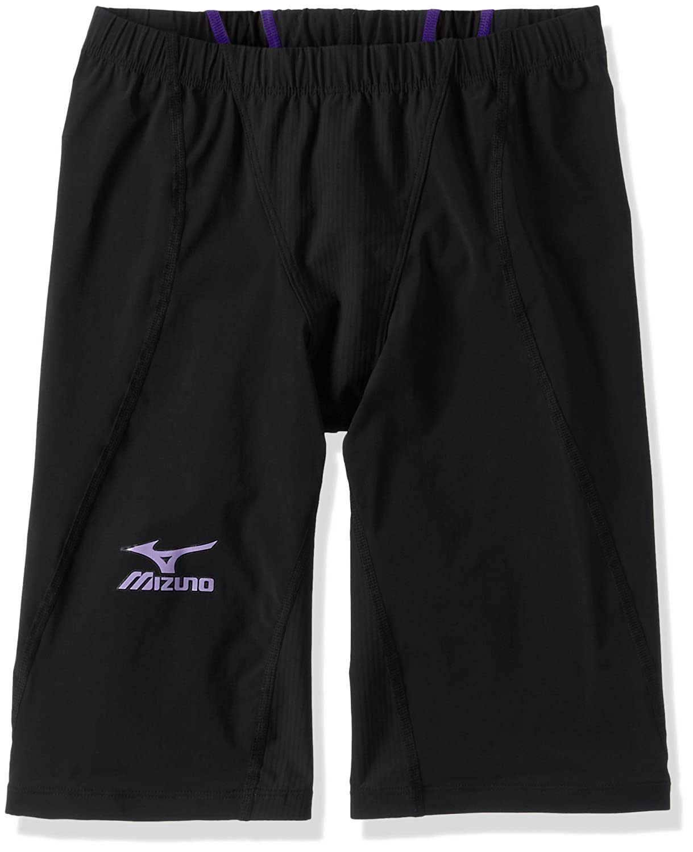MIZUNO(ミズノ) レース用競泳水着 メンズ MX SONIC 02 ハーフスパッツ FINA承認 N2MB6011 B01ESLQCF8 Small 98:ブラック×バイオレット