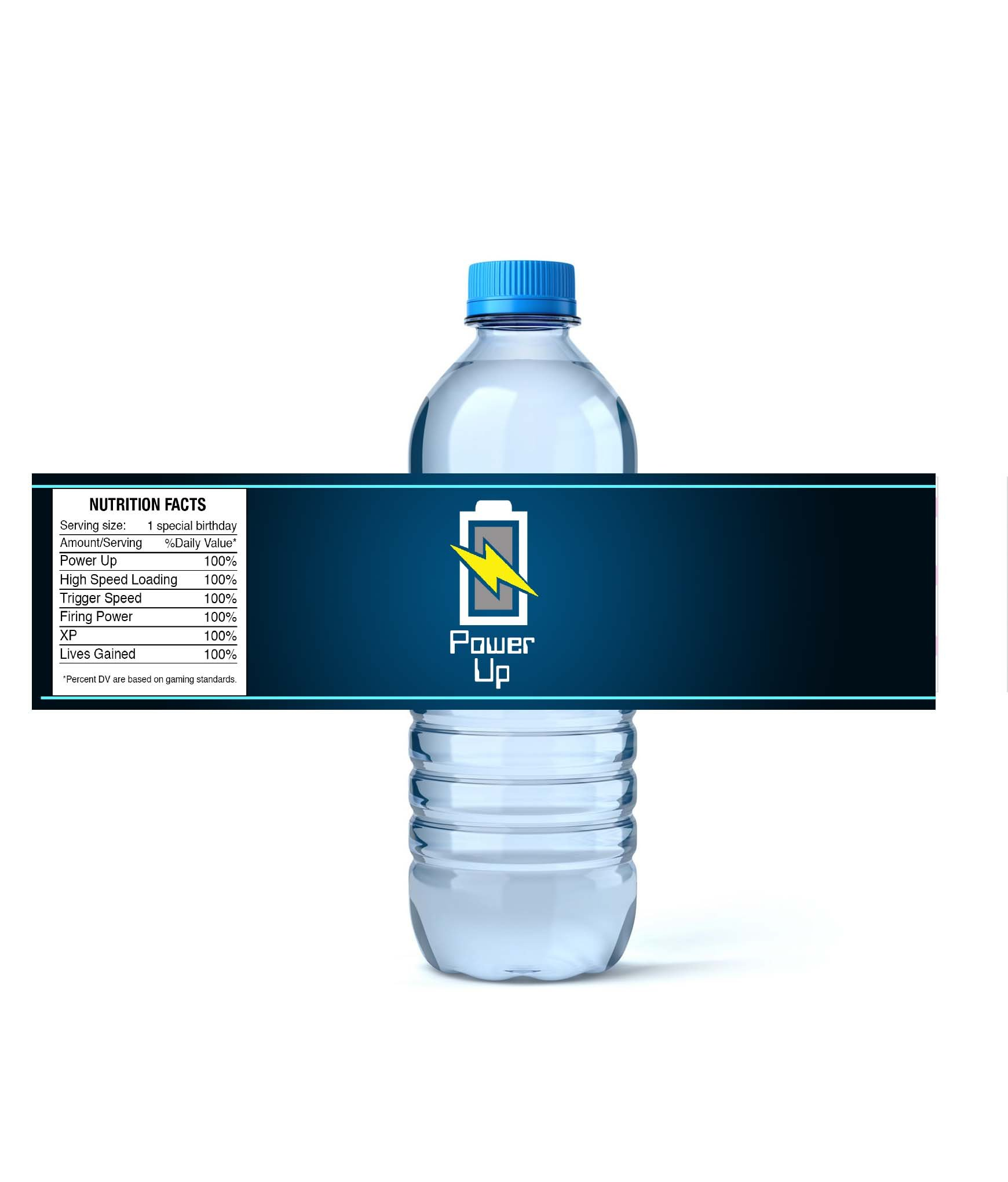 Video Game Themed Party Supplies for Your Gamer (Bottle Wraps) 12 Labels