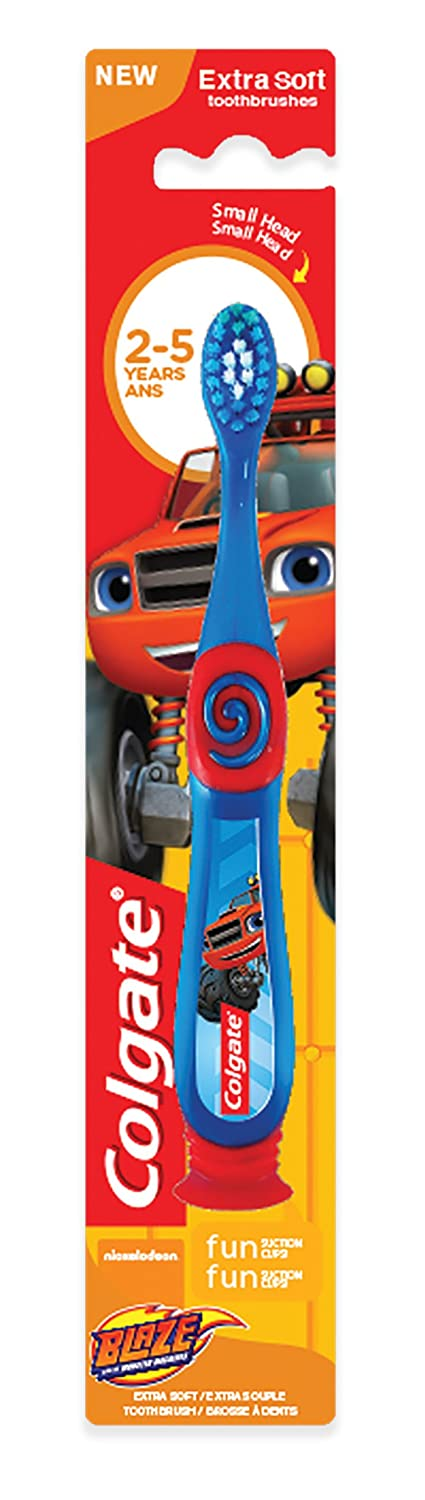 Colgate Kids Blaze Toothbrush, Extra Soft, 1 Count US04171A