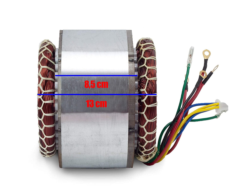 Stator Rotor Anker Wicklung Spule Stromgenerator Stromerzeuger Generator 8,5 cm