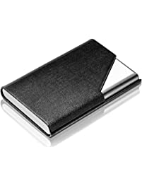 Business card holders amazon office school supplies desk dmfly business name card holder reheart Gallery