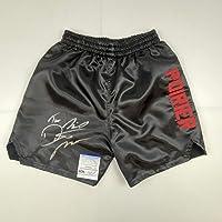$114 » Autographed/Signed Dustin Poirier UFC MMA Black Ultimate Fighting Trunks PSA/DNA COA