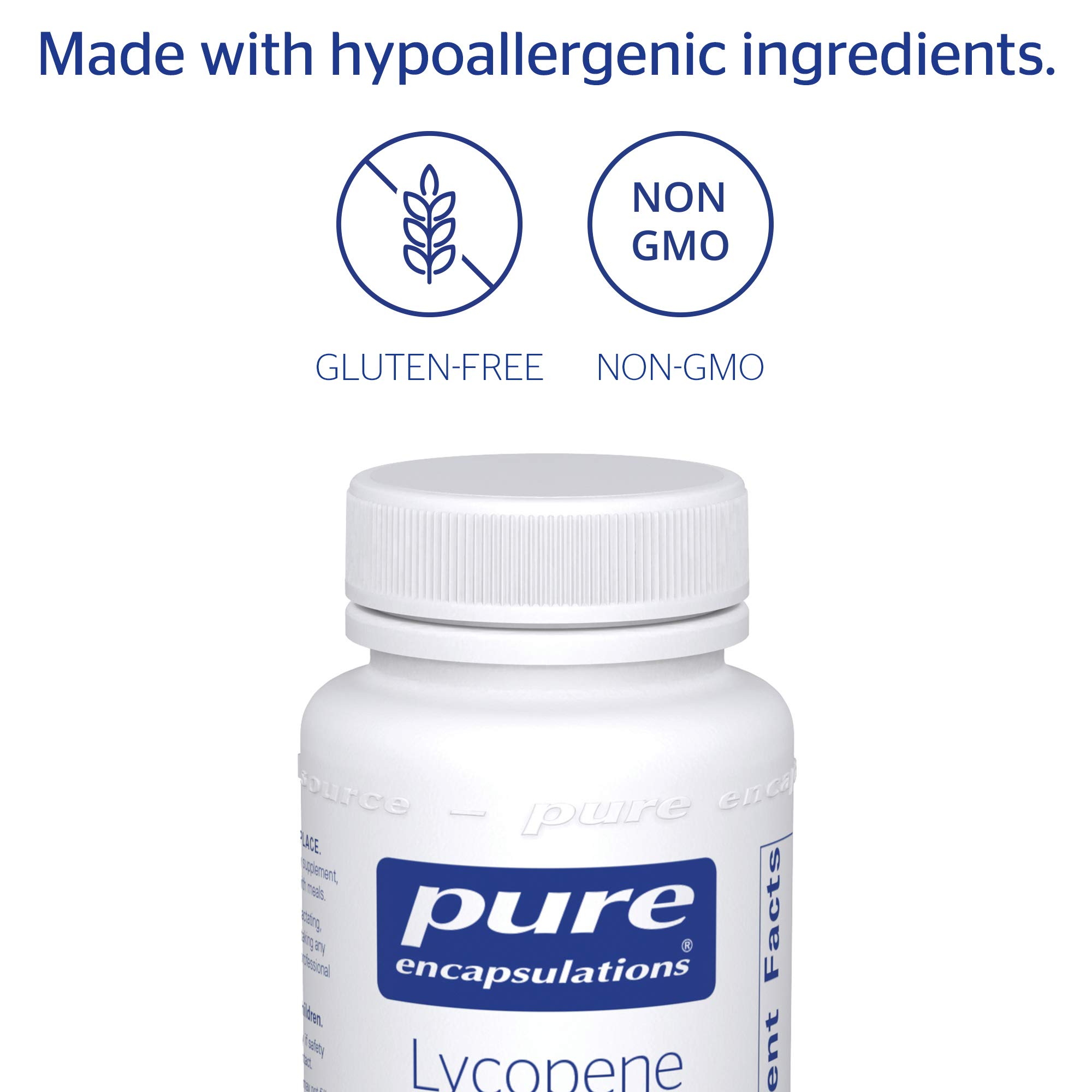 Pure Encapsulations - Lycopene 10 mg - Dietary Supplement for Prostate, Cellular and Macular Support* - 100 Softgel Capsules by Pure Encapsulations (Image #4)