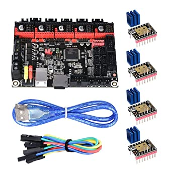 TMC2100 Driver 8825 Support A4988 KINGPRINT SKR V1.3 Smoothieware 32bit Controller Board for 3D Printer Compatible with 12864LCD SKR V1.3 TMC2208