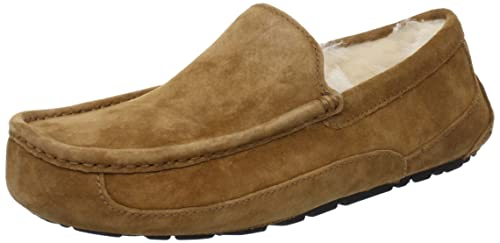 f4e02c226aa Amazon.com | Ugg Men's Ascot Espresso Suede Wool Slipper | Slippers