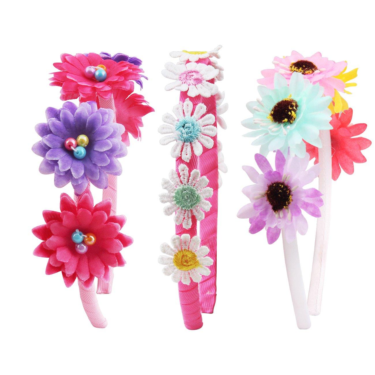 Amazon Candygirltm Daisy Flower Crown Girls Headband Wedding