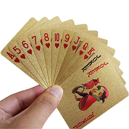 EisEyen Luxus póquer Oro Plata Poker Tarjetas Parte Tarjetas ...
