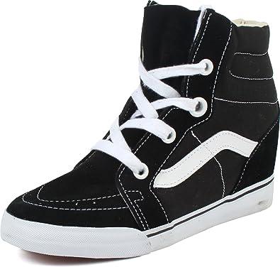 Vans - Womens Sk8-Hi Wedge Shoes