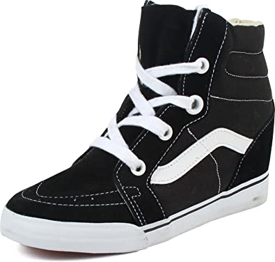 Image Unavailable. Image not available for. Color  Vans - Womens Sk8-Hi  Wedge Shoes ... fa646c367be9