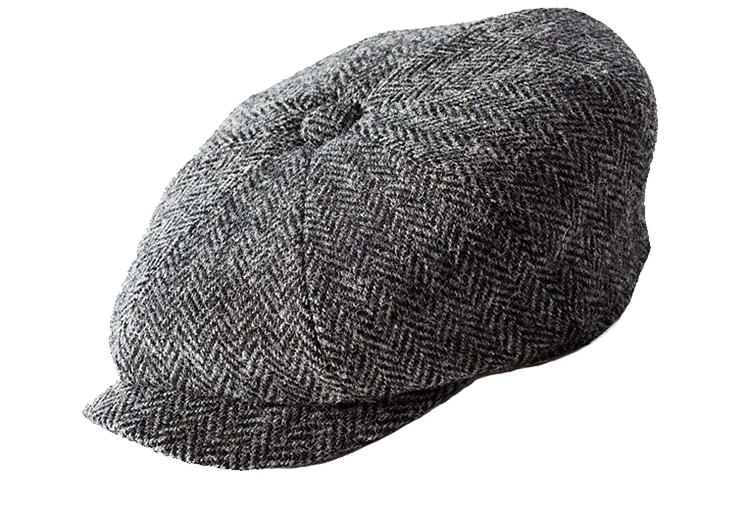 a53c41e85af3f7 Failsworth Harris Tweed Newsboy Cap at Amazon Men's Clothing store: