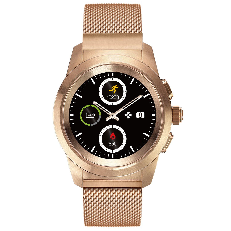 MyKronoz ZeTime Elite - Reloj Inteligente híbrido (44 mm ...