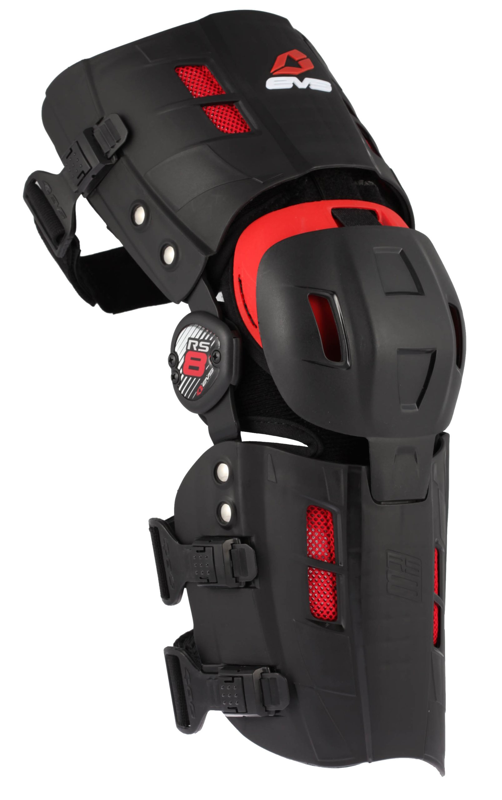 EVS Sports RS8 Right Knee Brace (Black, Small)