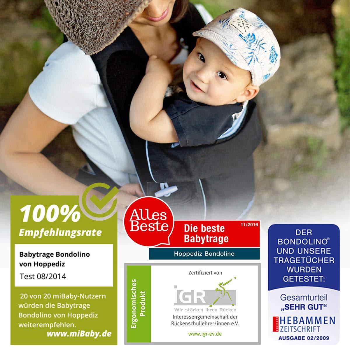 9d347e588027 Bondolino® Porte-bébé Denim avec étoiles  Amazon.fr  Bébés   Puériculture