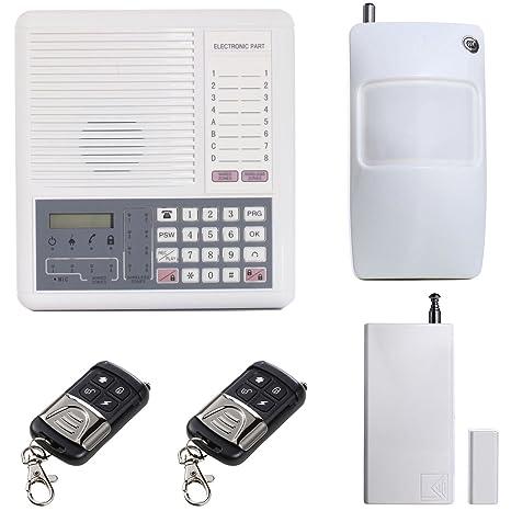 UHPPOTE Ladrón Alarma Seguridad Control Unidad 4 Alámbrico + ...