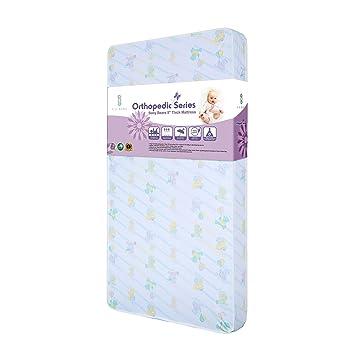 Amazon.com: La bebé cuna colchón, del bebé Dreamland ...