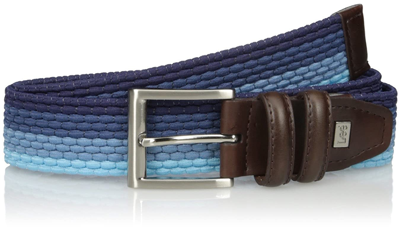 Lee Mens Big and Tall Stretch Woven Belt