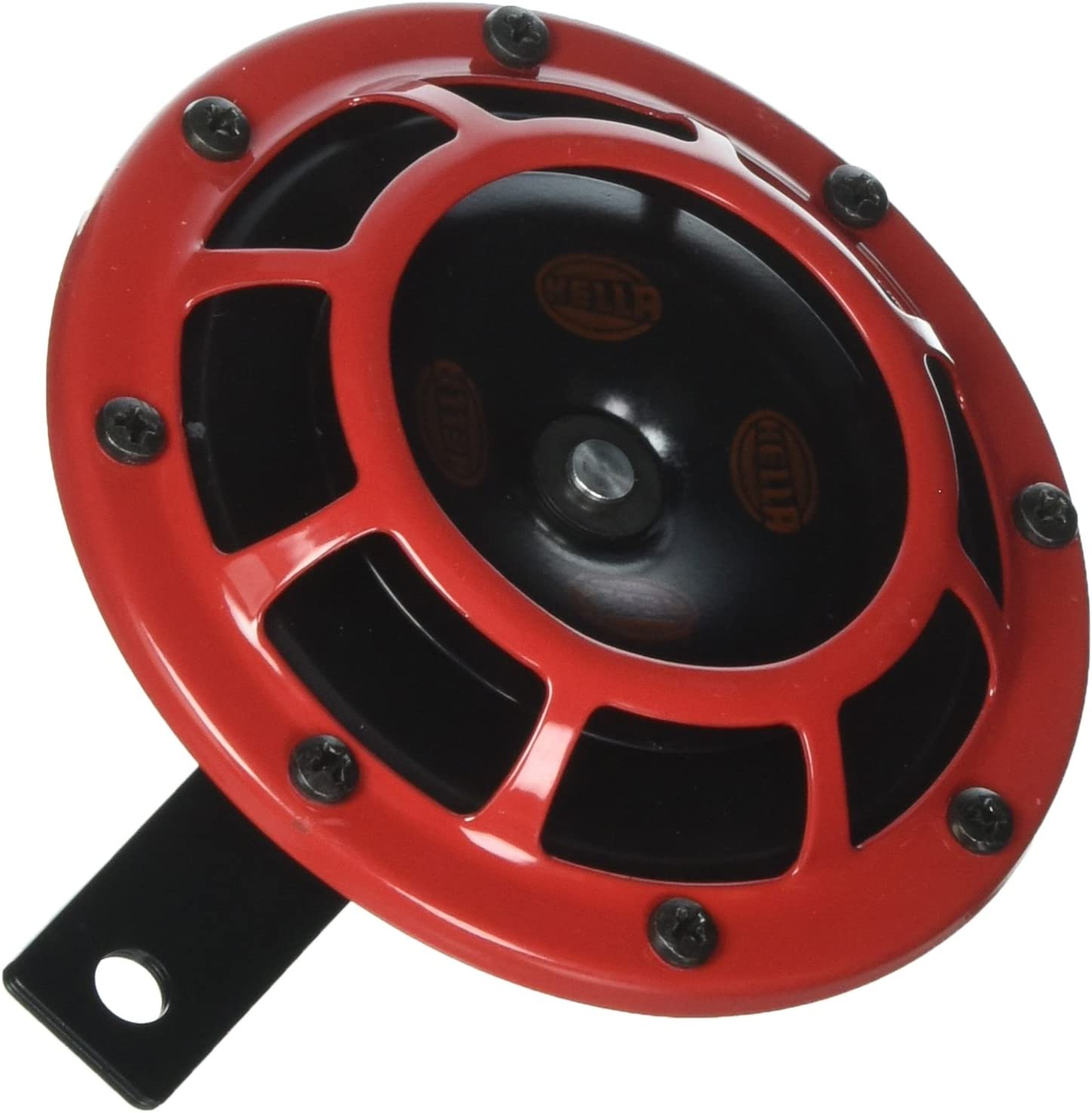 HELLA Loud Super Tone Electric Horn B133 KIT Red Black 12V 300-500Hz 66W