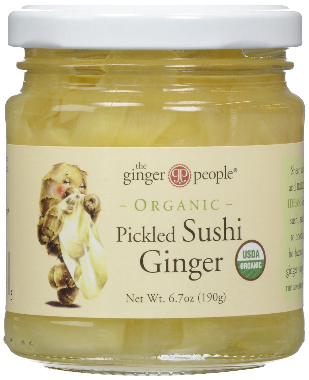 Ginger People, Pickled Sushi Ginger, 6.7 oz