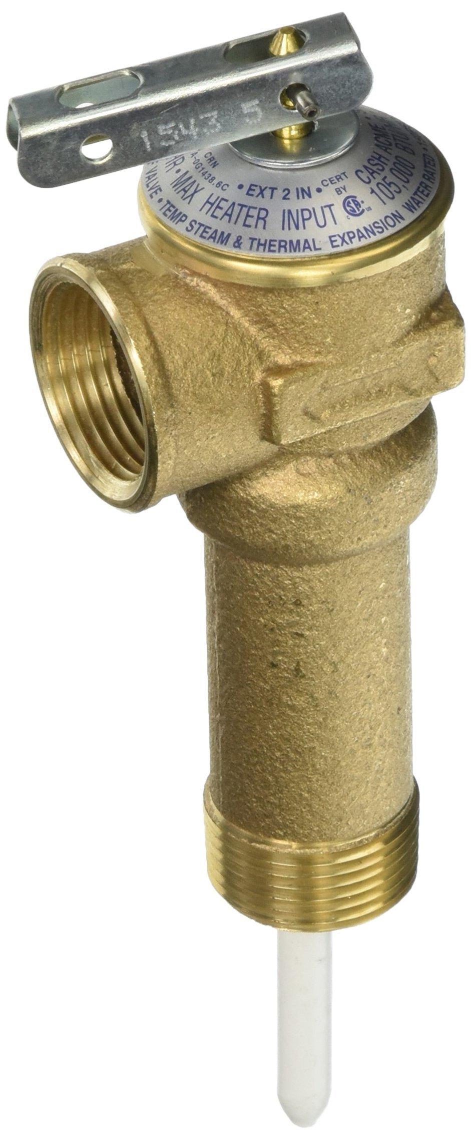 Cash Acme 19084-0150 3/4 NCLX-LS Temperature & Pressure Relief Valve