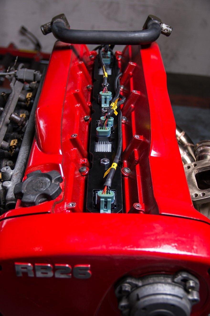 Lq9 Lq Coil Pack Aluminum Bracket Wire Harness For Ls Nissan Rb26dett Rb26 Automotive